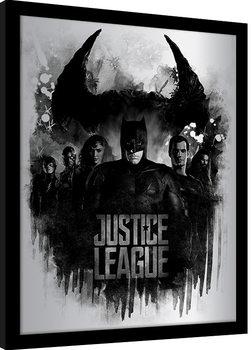 Poster Emoldurado Justice League Movie - Dark Horizon