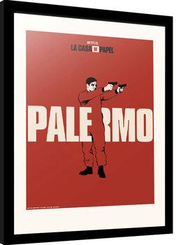 Poster Emoldurado La Casa De Papel - Palermo