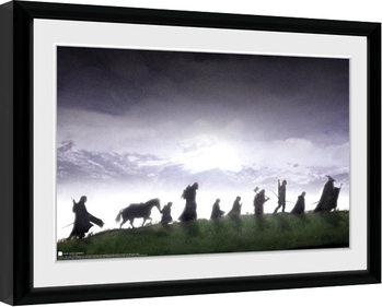 Poster Emoldurado Lord Of The Rings - Fellowship