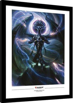 Poster Emoldurado Magic The Gathering - Nicol Bolas, Dragon God