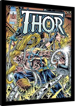 Poster Emoldurado Marvel Comics - Thor Tentacles