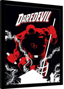 Poster Emoldurado Marvel Extreme - Daredevil
