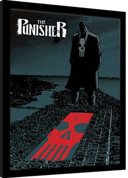 Poster Emoldurado Marvel Extreme - Punisher