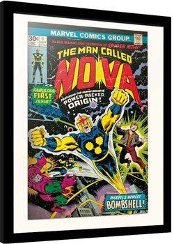 Poster Emoldurado Marvel - Nova