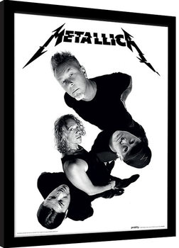 Poster Emoldurado Metallica - Twisted Band