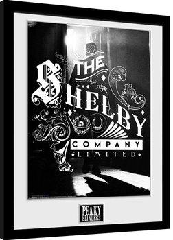 Poster Emoldurado Peaky Blinders - Shelby Company