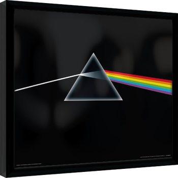 Poster Emoldurado Pink Floyd - Dark Side Of The Moon