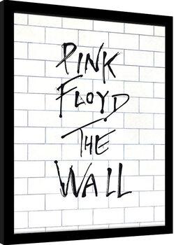 Poster Emoldurado Pink Floyd - The Wall Album