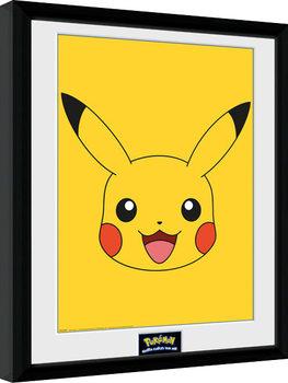 Poster Emoldurado Pokemon - Pikachu