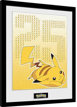 Poster Emoldurado Pokemon - Pikxels