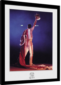 Poster Emoldurado Queen - Crown