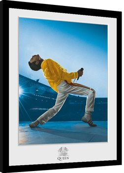 Poster Emoldurado Queen - Wembley