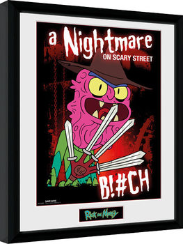Poster Emoldurado Rick & Morty - Scary Terry