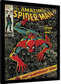 Poster Emoldurado Spider-Man - 100th Anniversary