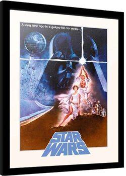 Poster Emoldurado Star Wars - Classic
