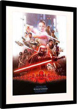 Poster Emoldurado Star Wars: Episode IX - The Rise of Skywalker