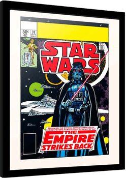 Poster Emoldurado Star Wars: Episode V - Empire Strikes Back - The Beginning