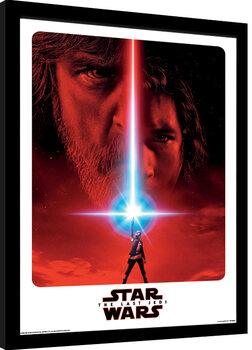 Poster Emoldurado Star Wars: Episode VIII - The Last Jedi - Teaser