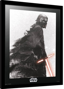 Poster Emoldurado Star Wars: Epizode IX - The Rise Of Skywalker - Kylo Ren