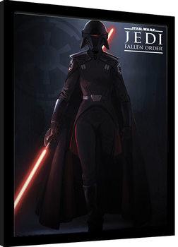 Poster Emoldurado Star Wars: Jedi Fallen Order - Inquisitor