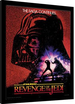 Poster Emoldurado Star Wars - Revenge of the Jedi