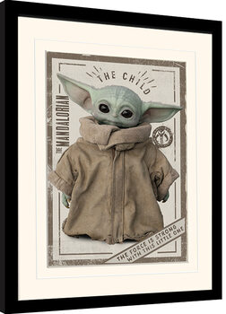 Poster Emoldurado Star Wars: The Mandalorian - The Child