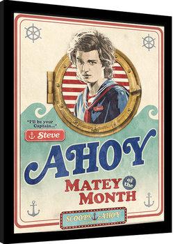 Poster Emoldurado Stranger Things - Matey of the Month