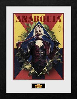 Poster Emoldurado Suicide Squad - Harley Quinn