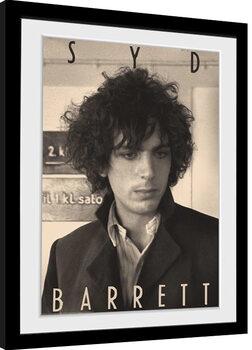 Poster Emoldurado Syd Barrett - BW Portrait