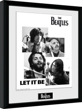 Poster Emoldurado The Beatles - Let It Be