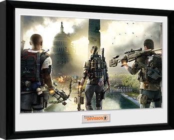 Poster Emoldurado The Division 2 - Landscape