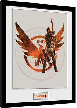 Poster Emoldurado The Division 2 - SHD