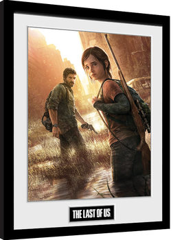 Poster Emoldurado The Last Of Us - Key Art