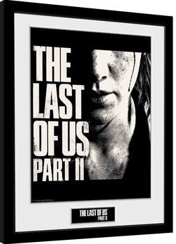 Poster Emoldurado The Last Of Us Part 2 - Face