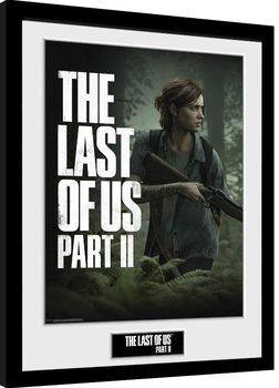 Poster Emoldurado The Last Of Us Part 2 - Key Art
