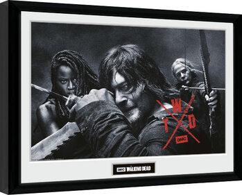 Poster Emoldurado The Walking Dead - Season 10 Group