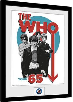 Poster Emoldurado The Who - Tour 65