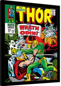 Poster Emoldurado Thor - Wrath of Odin