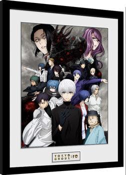 Poster Emoldurado Tokyo Ghoul: Re - Key Art 3