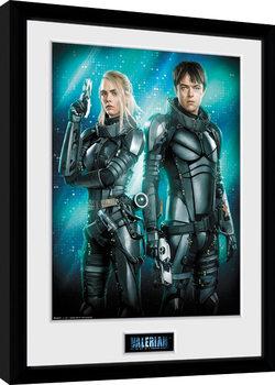 Poster Emoldurado Valerian - Duo