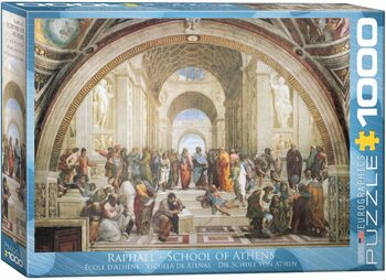 Palapeli Raffaello Sanzio, Raphael - School of Athens