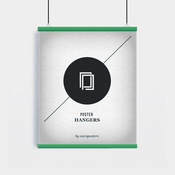 EBILAB Suporte para Poster - 2 peças comprimento 61 cm  verde