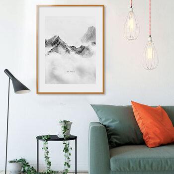 GB EYE Frame - Poster 61x91,5cm Orange - Plastic