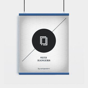 EBILAB Suporte para Poster - 2 peças comprimento 61 cm  azul