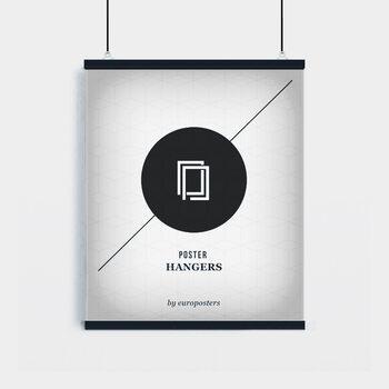 EBILAB Suporte para Poster - 2 peças comprimento 61 cm  preto