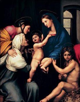 Raphael Sanzio - Madonna dell'Impannata, 1514 Reproduction d'art