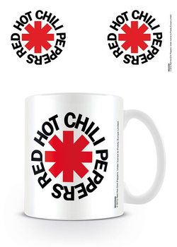 Cup Red Hot Chili Peppers - Logo White