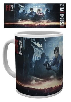 Cup Resident Evil 2 - City Key Art