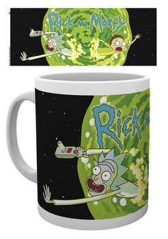 Caneca Rick And Morty - Logo
