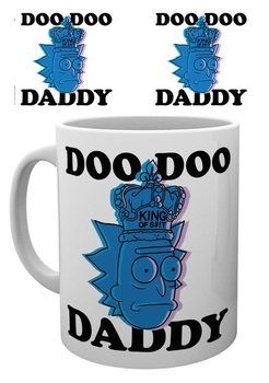 Cup Rick & Morty - Doo Doo Daddy
